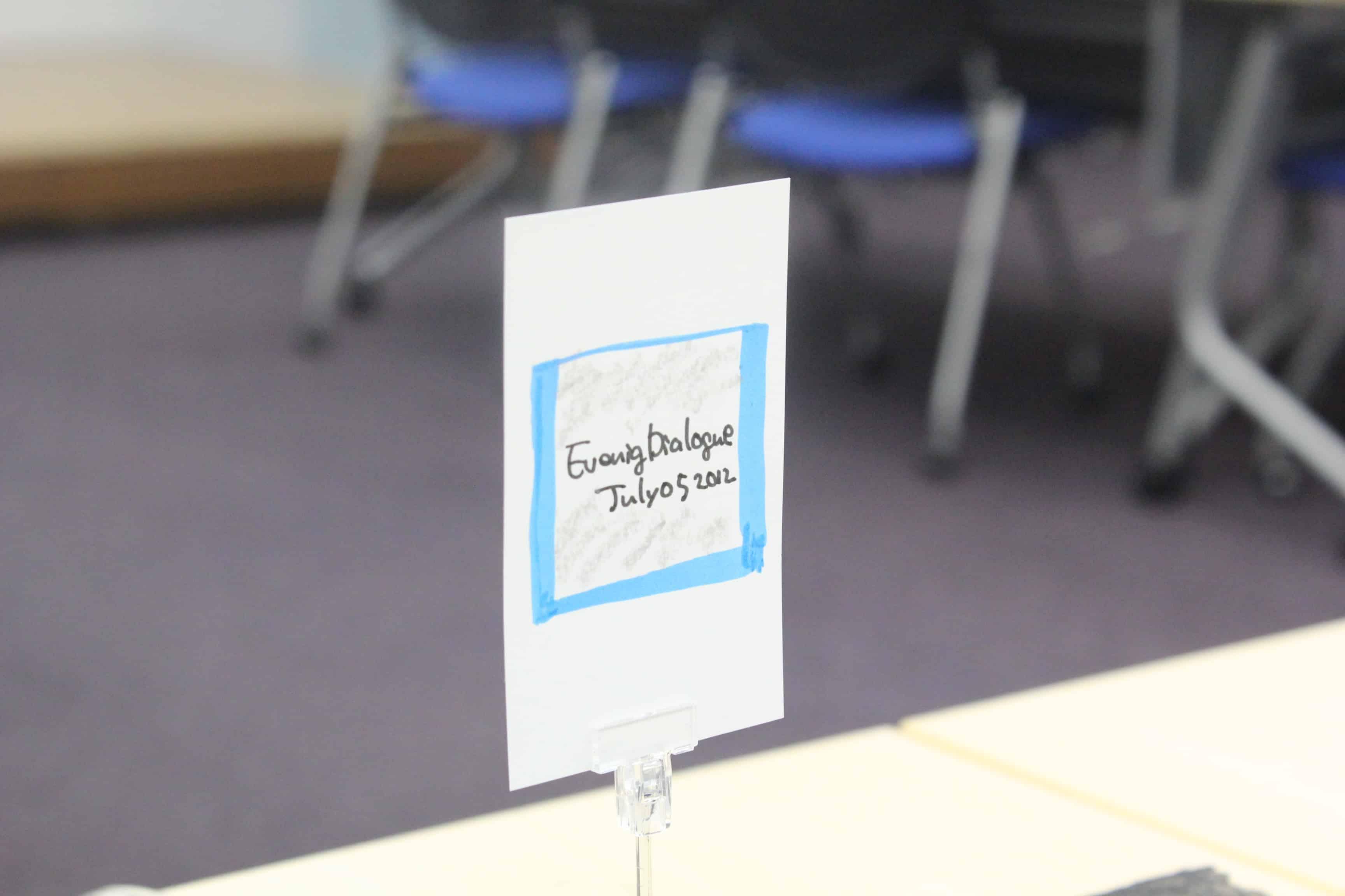IMG 3052 - 産業能率大学大学院OBOG会「イブニングダイアローグ」に参加しました。