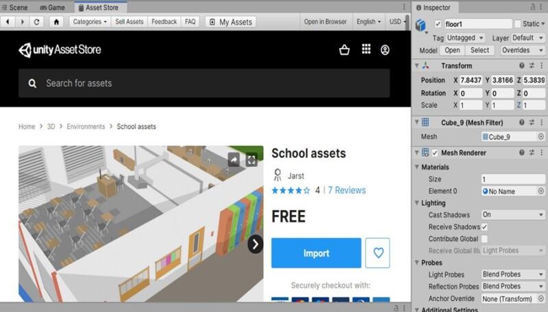 2d1ec4bc01270c569e004d63887f808f 1 800x456 - Unityで自分だけの教室を作ってみよう!